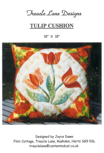 Tulip Cushion Front